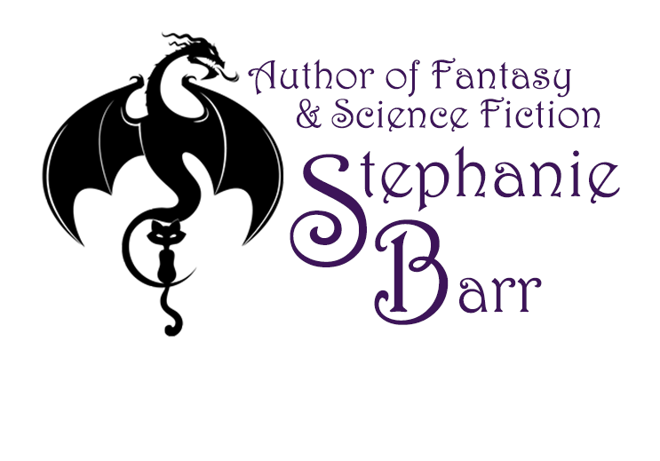 Stephanie Barr Dragon Cat Logo